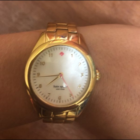 kate spade Jewelry - Kate Spade Gold Watch